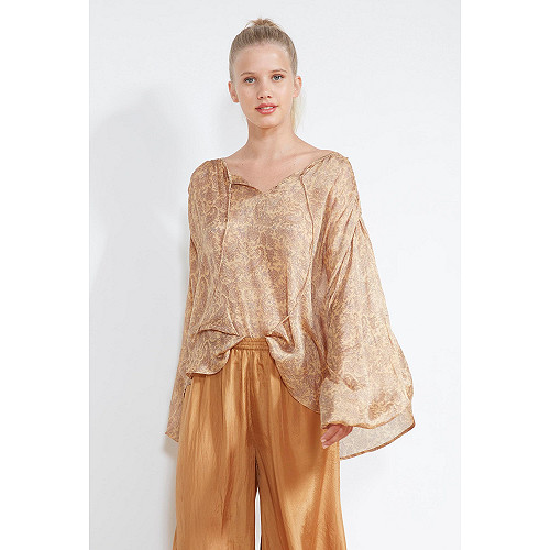 Nude  BLOUSE  Soupir Mes demoiselles fashion clothes designer Paris