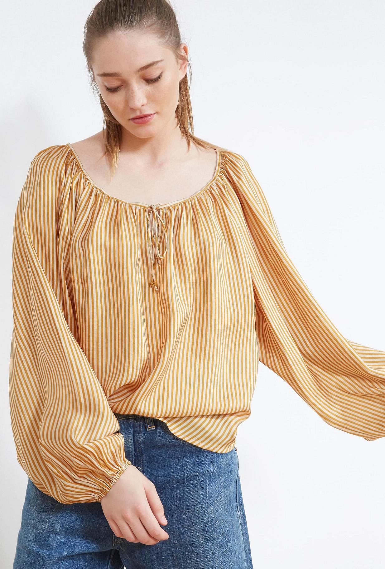 Ocre  BLOUSE  Sunny Mes demoiselles fashion clothes designer Paris