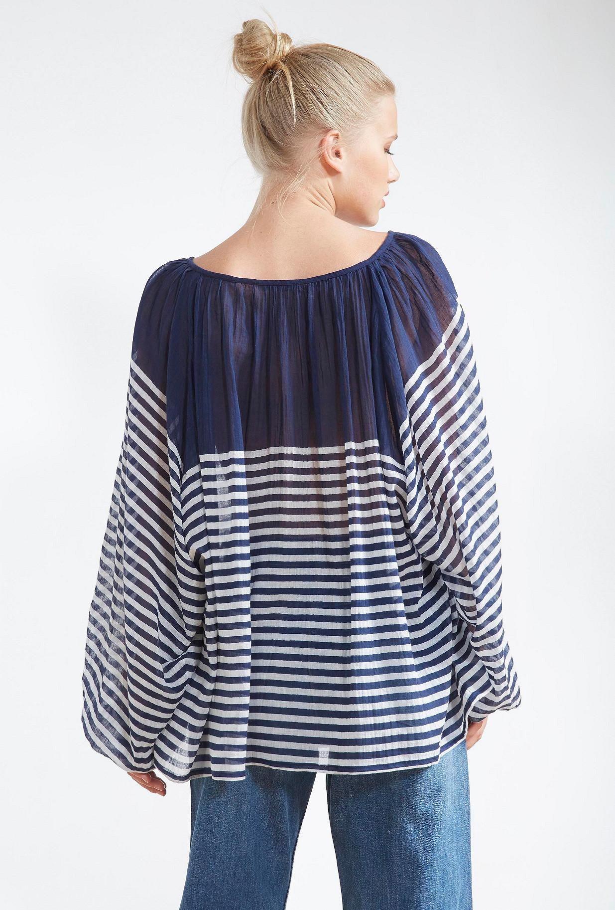Navy  BLOUSE  Forward Mes demoiselles fashion clothes designer Paris
