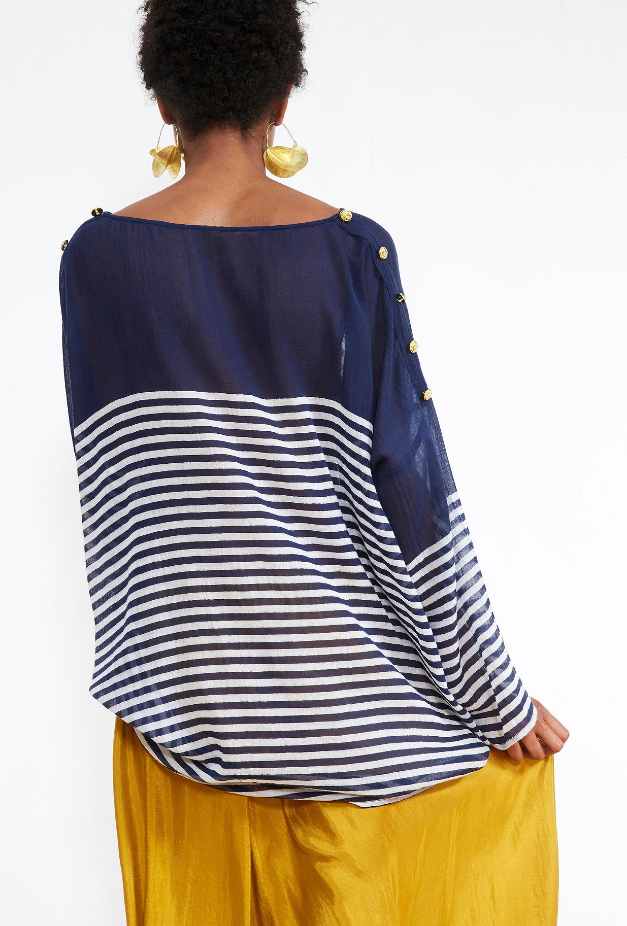 Navy BLOUSE Franklin Mes Demoiselles Paris