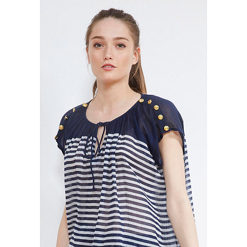 BLOUSE Fregate Mes Demoiselles color Navy