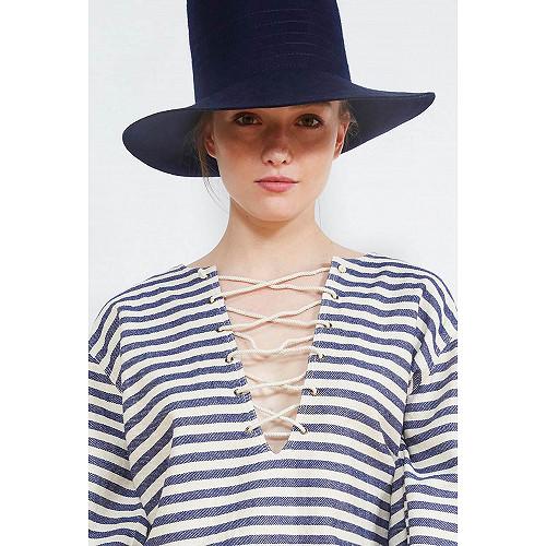 BLOUSE Garonne Mes Demoiselles color Blue stripe