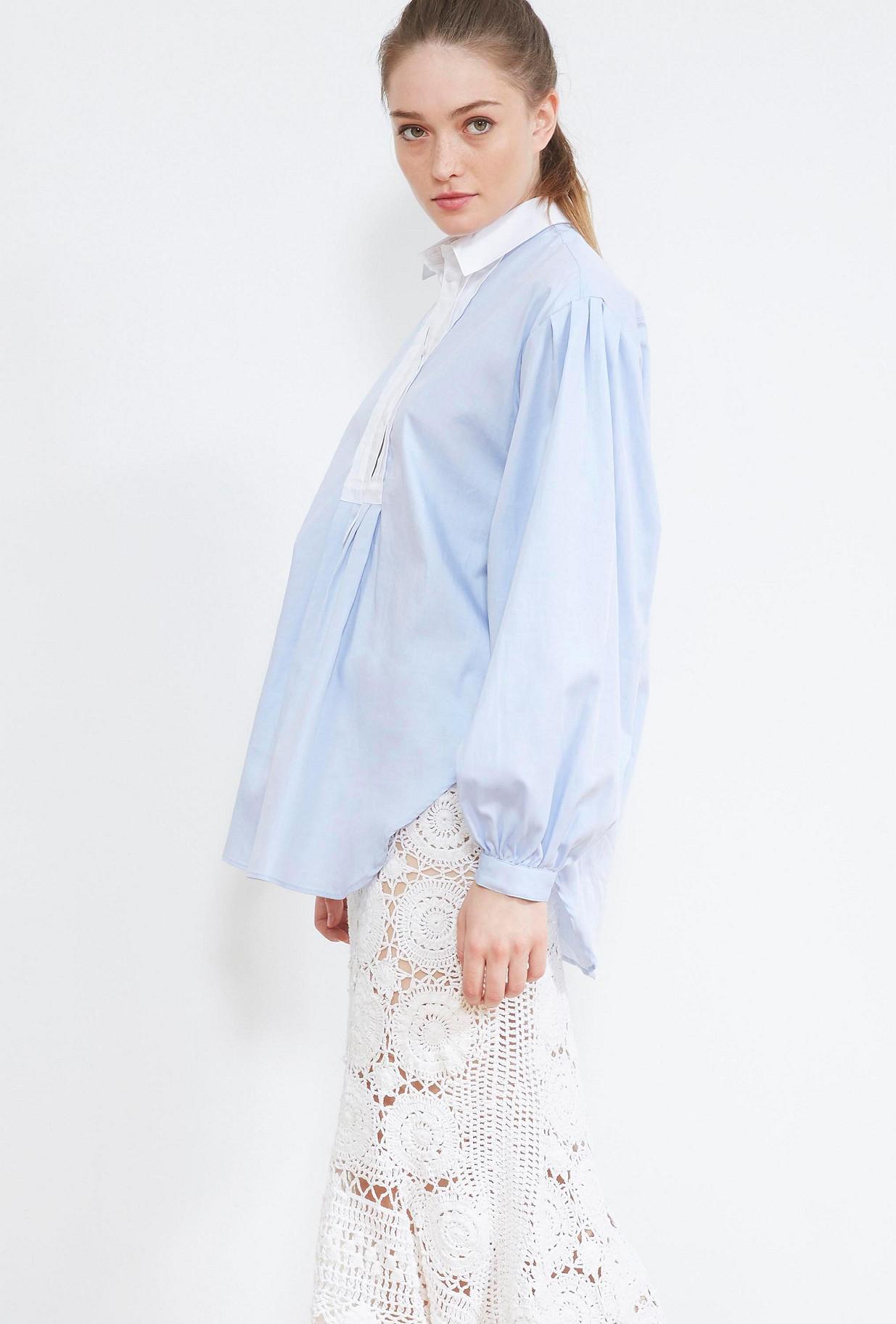 BLOUSE Bleu ciel Milka
