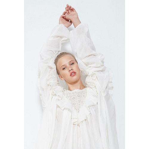 BLOUSE Ohara Mes Demoiselles color Ivory