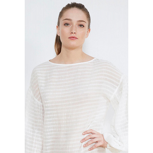 BLOUSE Pacific Mes Demoiselles color Ivory