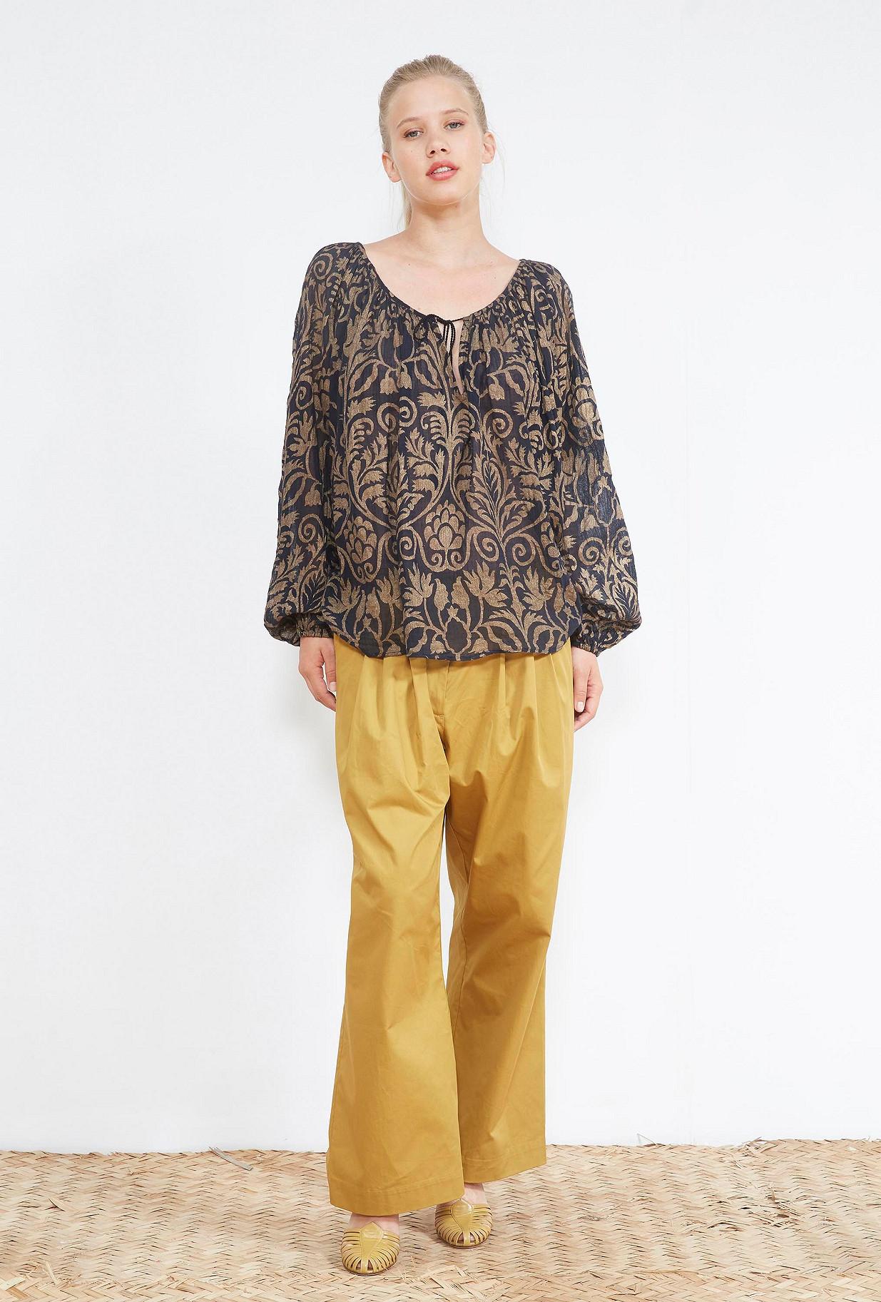 clothes store BLOUSE  Rococo french designer fashion Paris