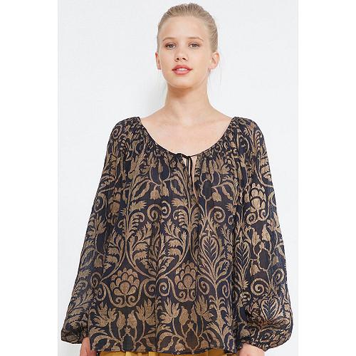 Black  BLOUSE  Rococo Mes demoiselles fashion clothes designer Paris