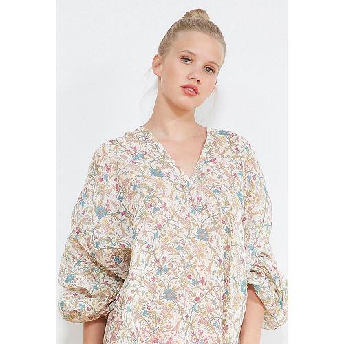 Floral print  BLOUSE  Toledo Mes demoiselles fashion clothes designer Paris