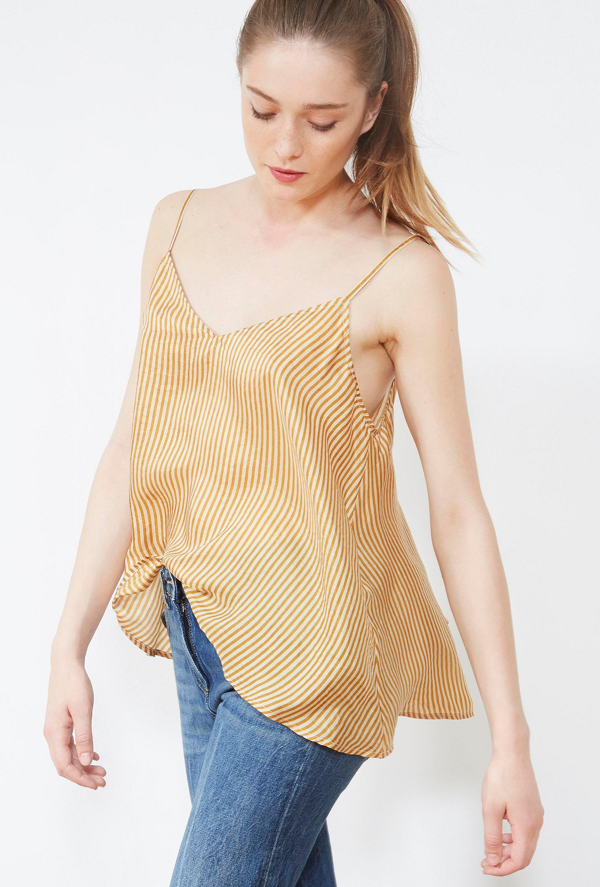 Ocre  TOP  Sun Mes demoiselles fashion clothes designer Paris