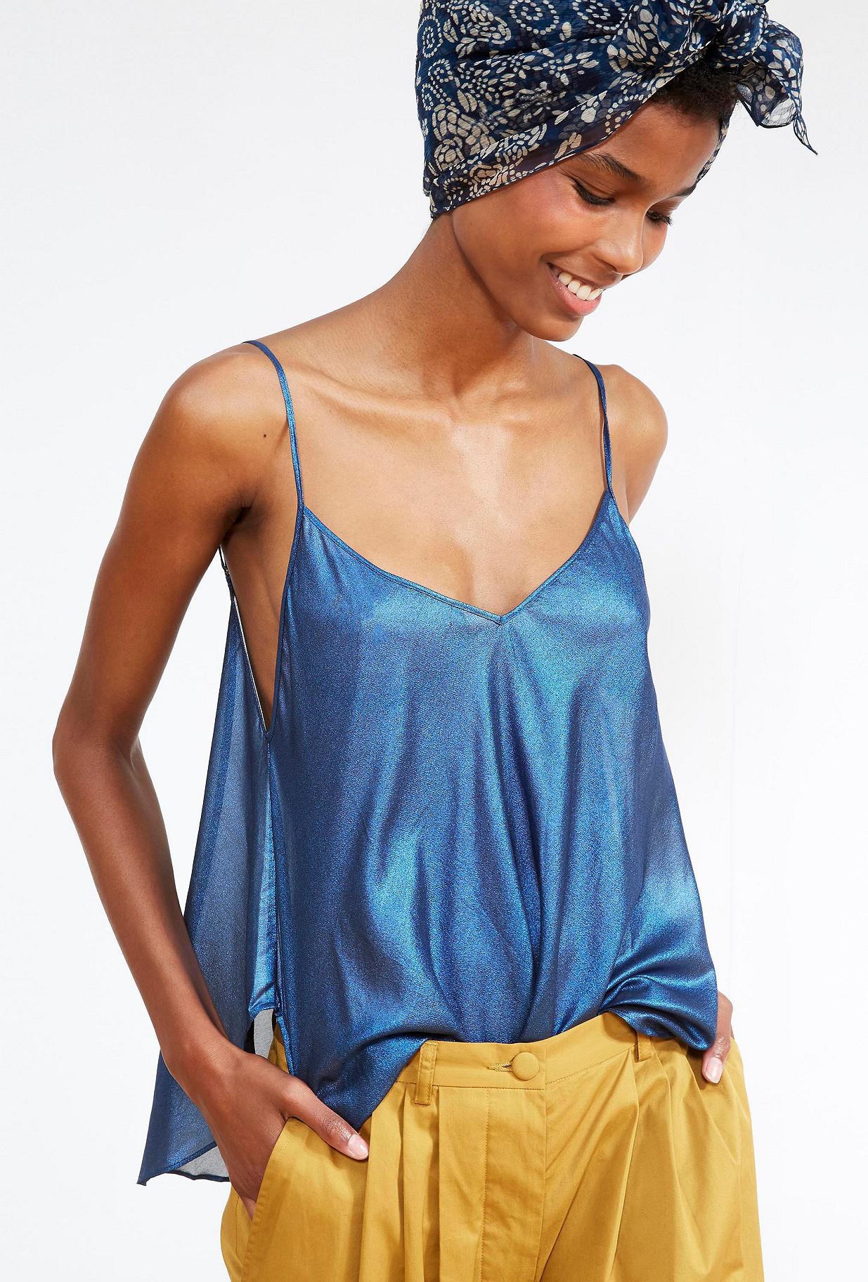 Silver  TOP  Starla Mes demoiselles fashion clothes designer Paris