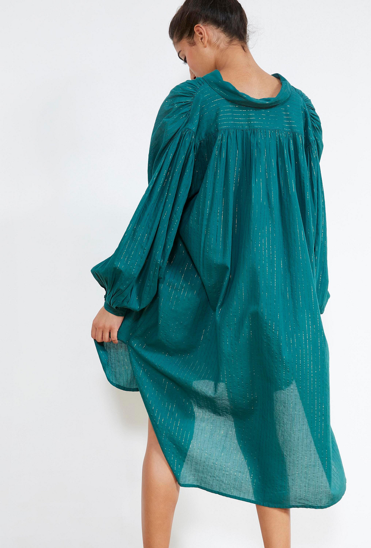 Green SHIRT Seymour Mes Demoiselles Paris