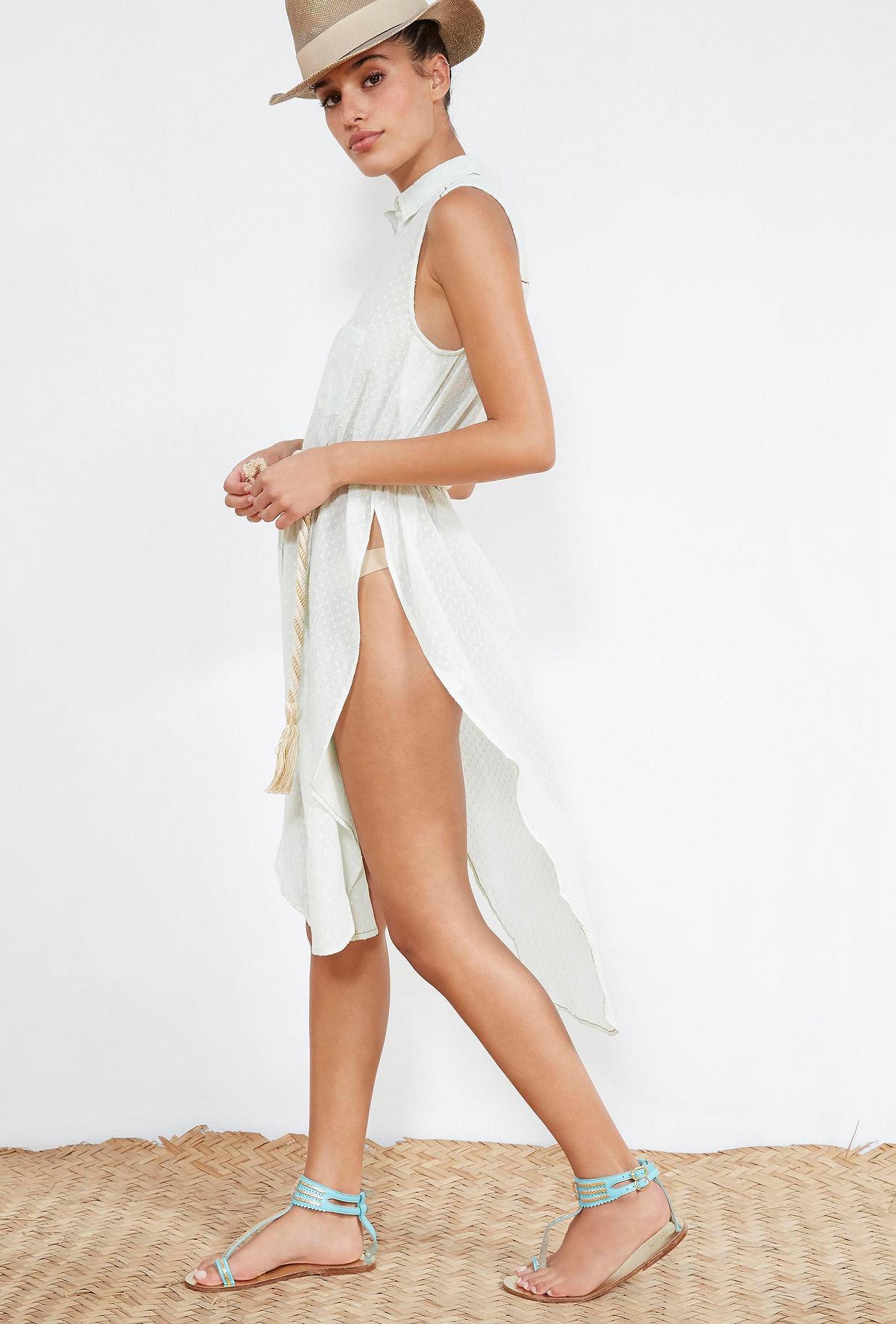 Aqua  SHIRT  Fin Mes demoiselles fashion clothes designer Paris