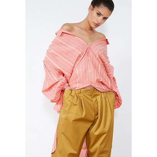 Coral  SHIRT  Kelly Mes demoiselles fashion clothes designer Paris