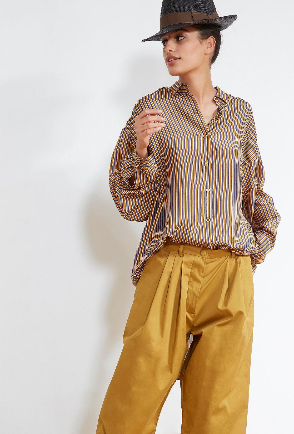 Ocre  SHIRT  Bridgetown Mes demoiselles fashion clothes designer Paris