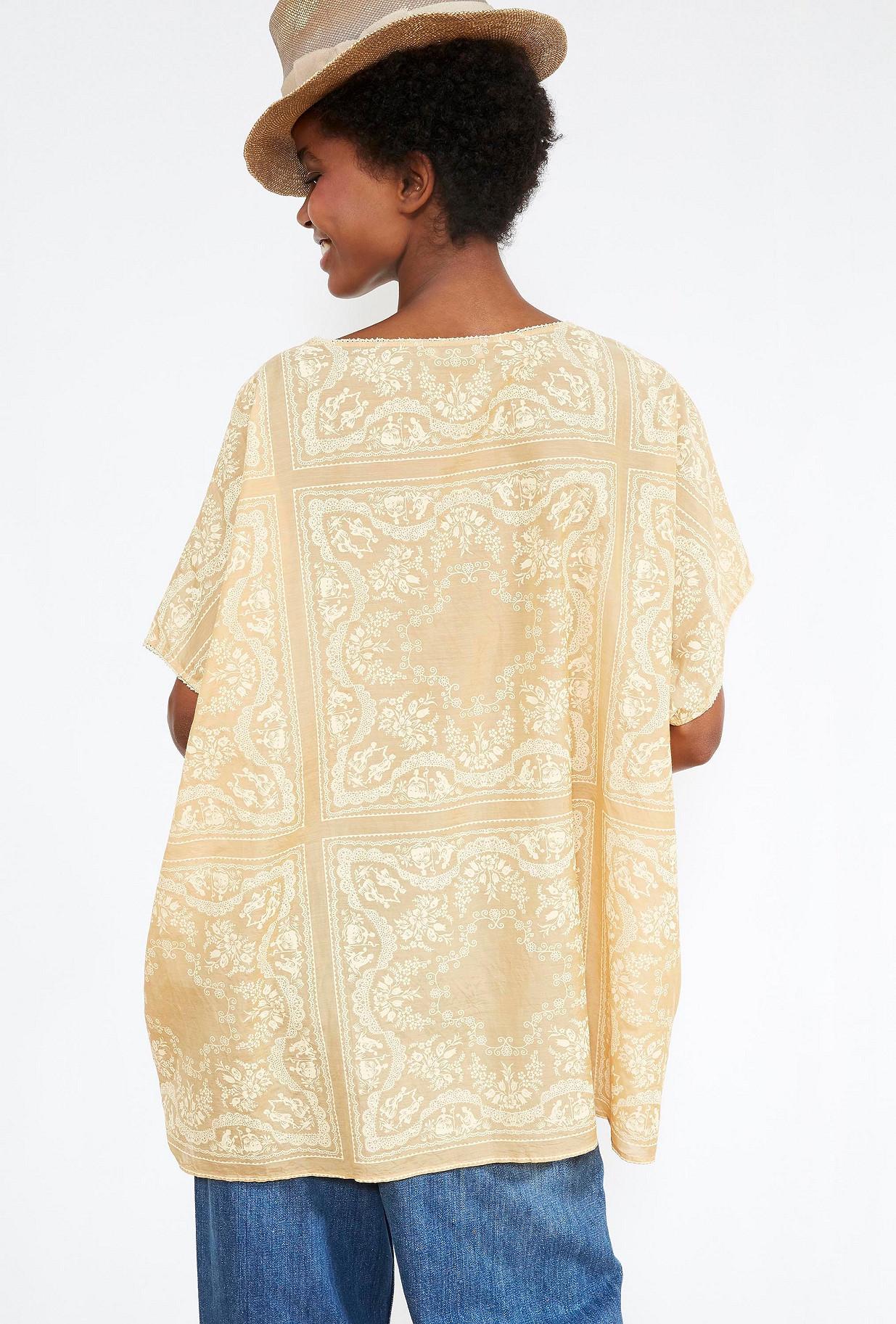 Natural  PONCHO  Jourdain Mes demoiselles fashion clothes designer Paris