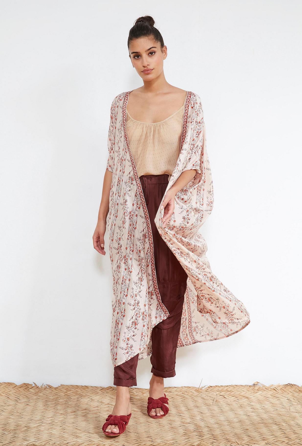 Floral print  KIMONO  Boris Mes demoiselles fashion clothes designer Paris