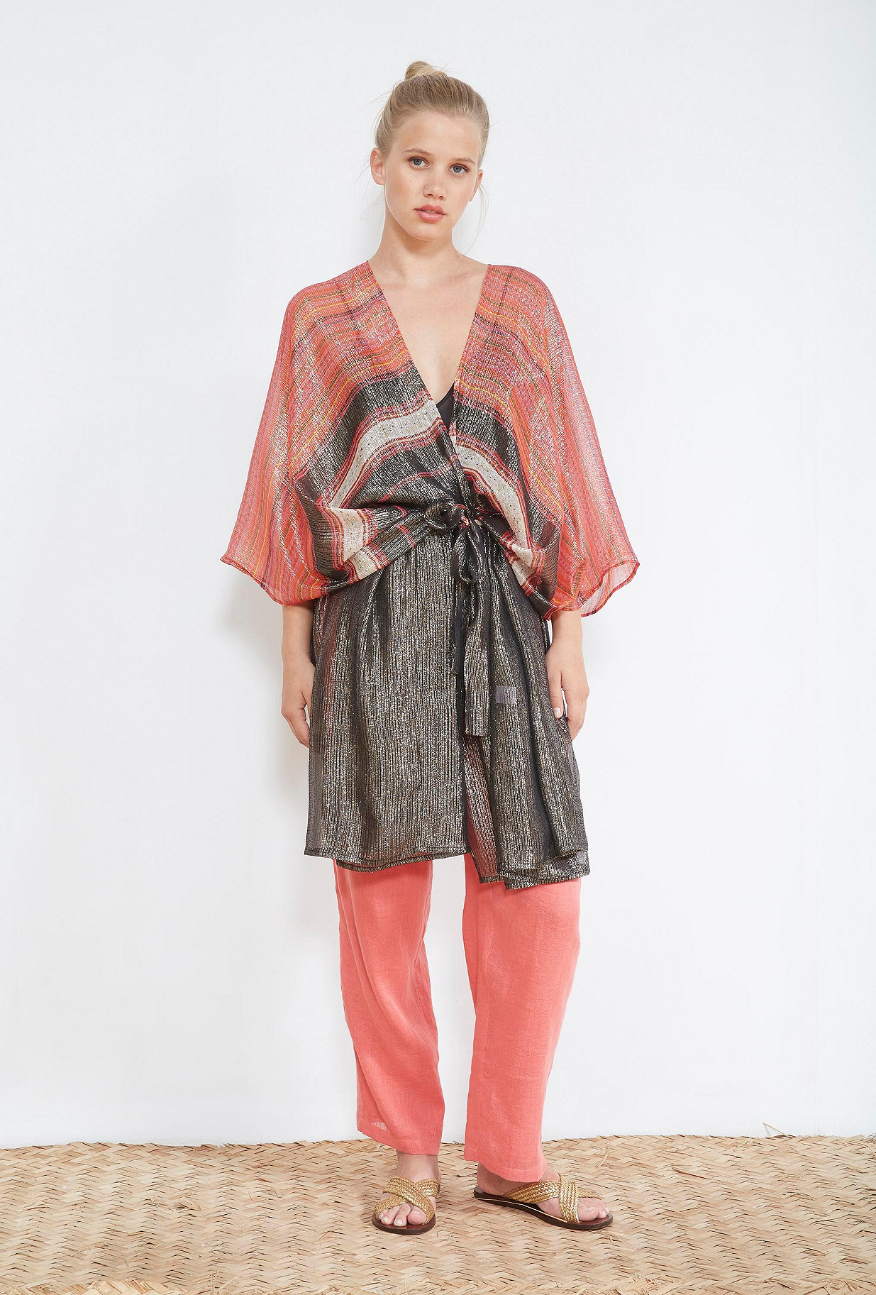 Black  KIMONO  Daraphet Mes demoiselles fashion clothes designer Paris