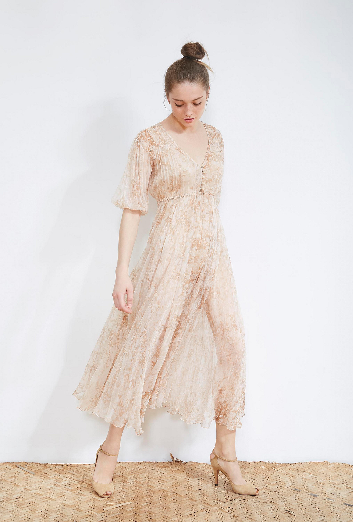 Nude  DRESS  Temple Mes demoiselles fashion clothes designer Paris