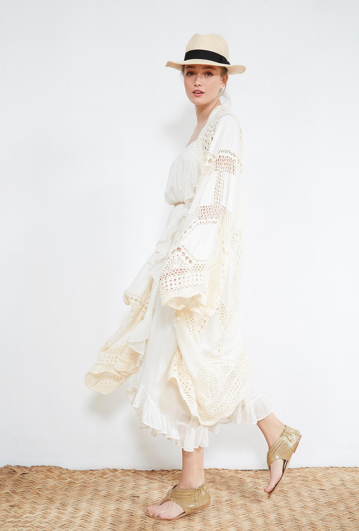 Ecru  KIMONO  Beauvoir Mes demoiselles fashion clothes designer Paris