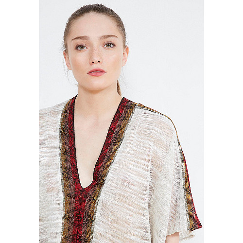 PONCHO Makeda Mes Demoiselles color Ivory