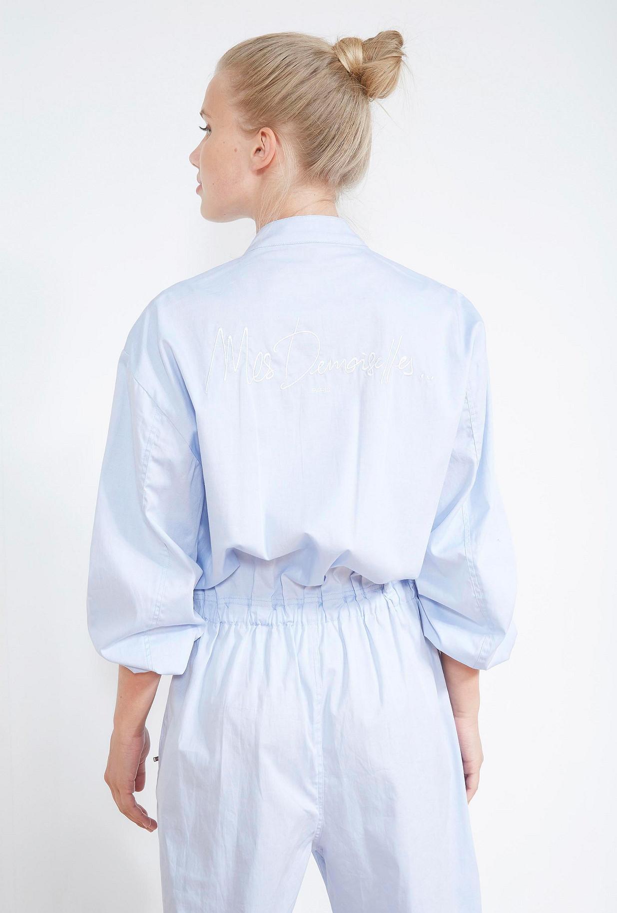 PANTALON Bleu ciel  Montecorlo mes demoiselles paris vêtement femme paris