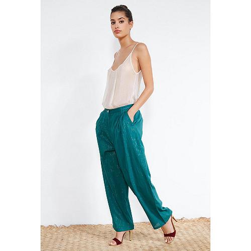 Green  PANTS  Santiago Mes demoiselles fashion clothes designer Paris