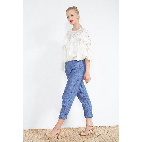 Indigo  PANTS  Nemo Mes demoiselles fashion clothes designer Paris