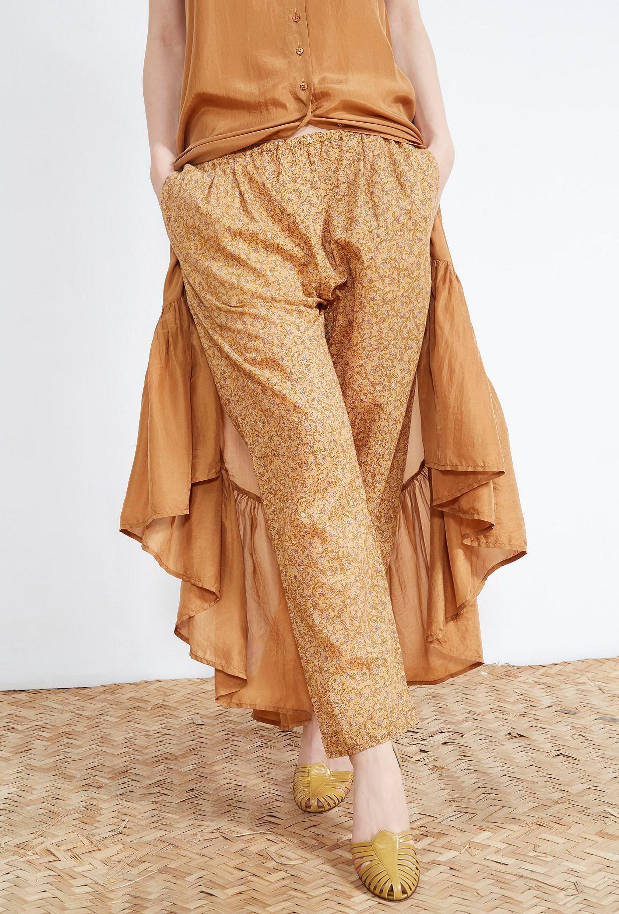 PANTALON Imprimé nude  Aladin mes demoiselles paris vêtement femme paris