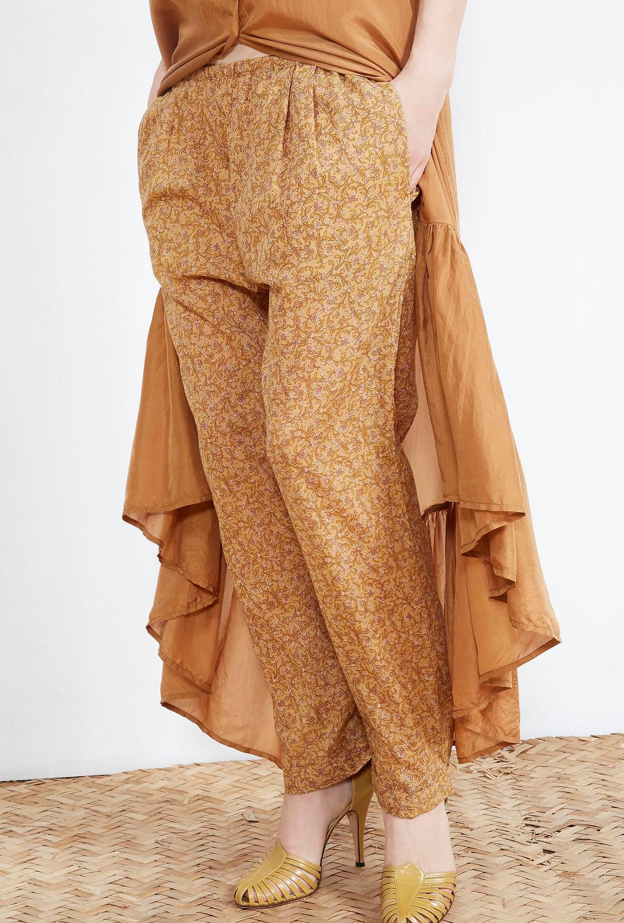 Nude print PANTS Aladin Mes Demoiselles Paris