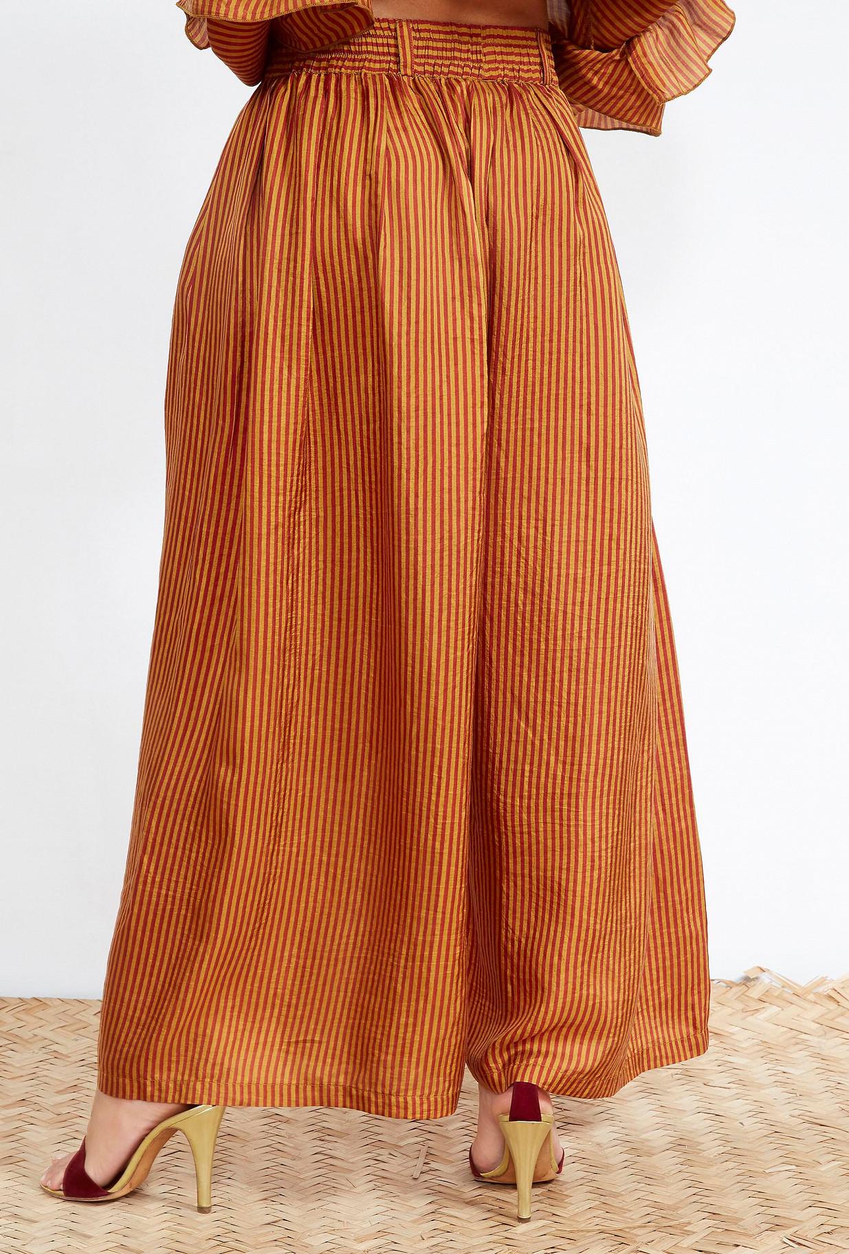 Red stripe  PANTS  Che Mes demoiselles fashion clothes designer Paris