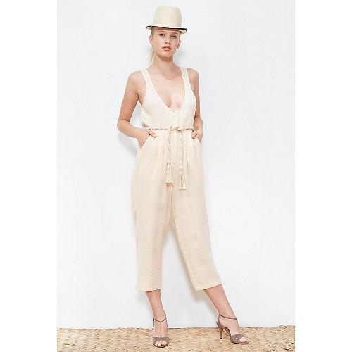 Nude  PANTS  Raphia Mes demoiselles fashion clothes designer Paris