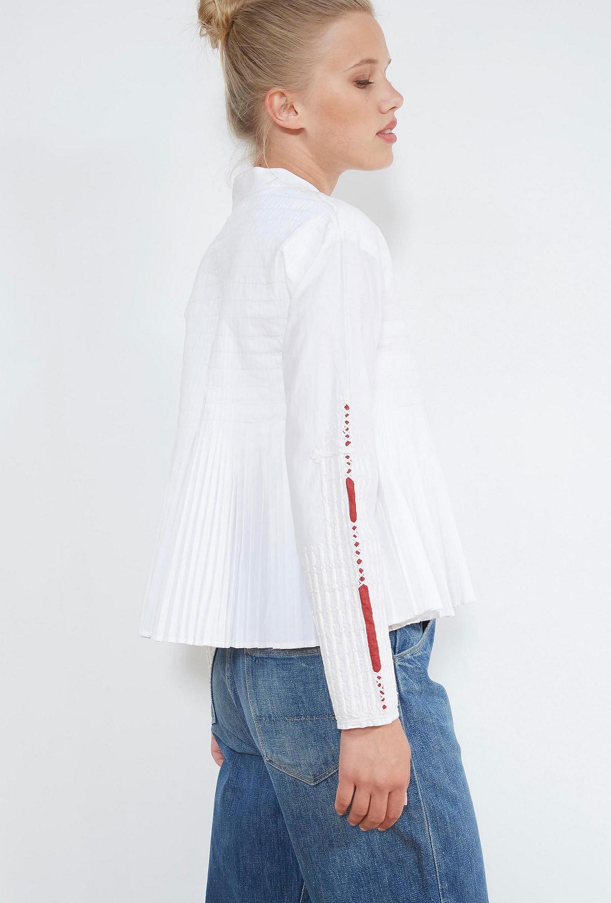 VESTE Blanc  Artemis mes demoiselles paris vêtement femme paris