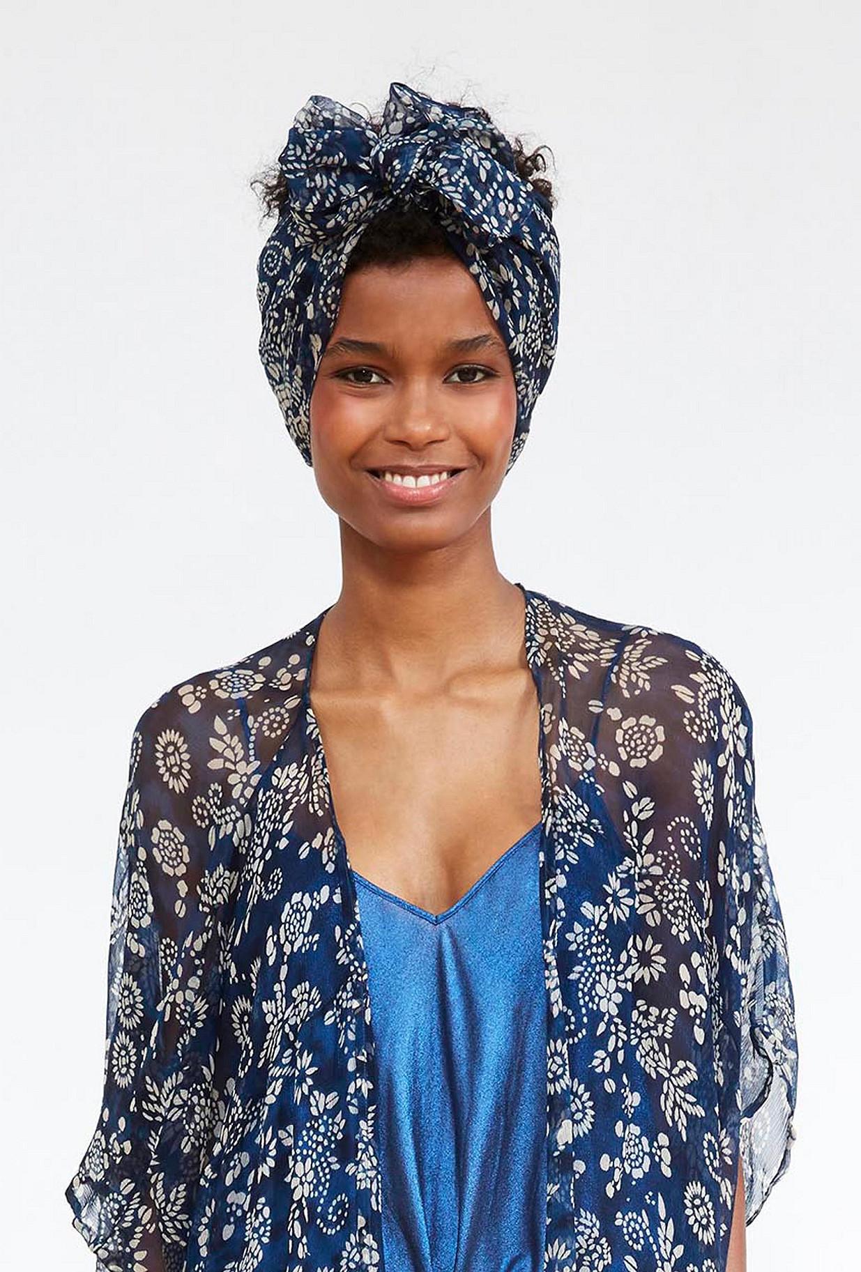 ACCESSOIRES Imprimé bleu  Bogus mes demoiselles paris vêtement femme paris