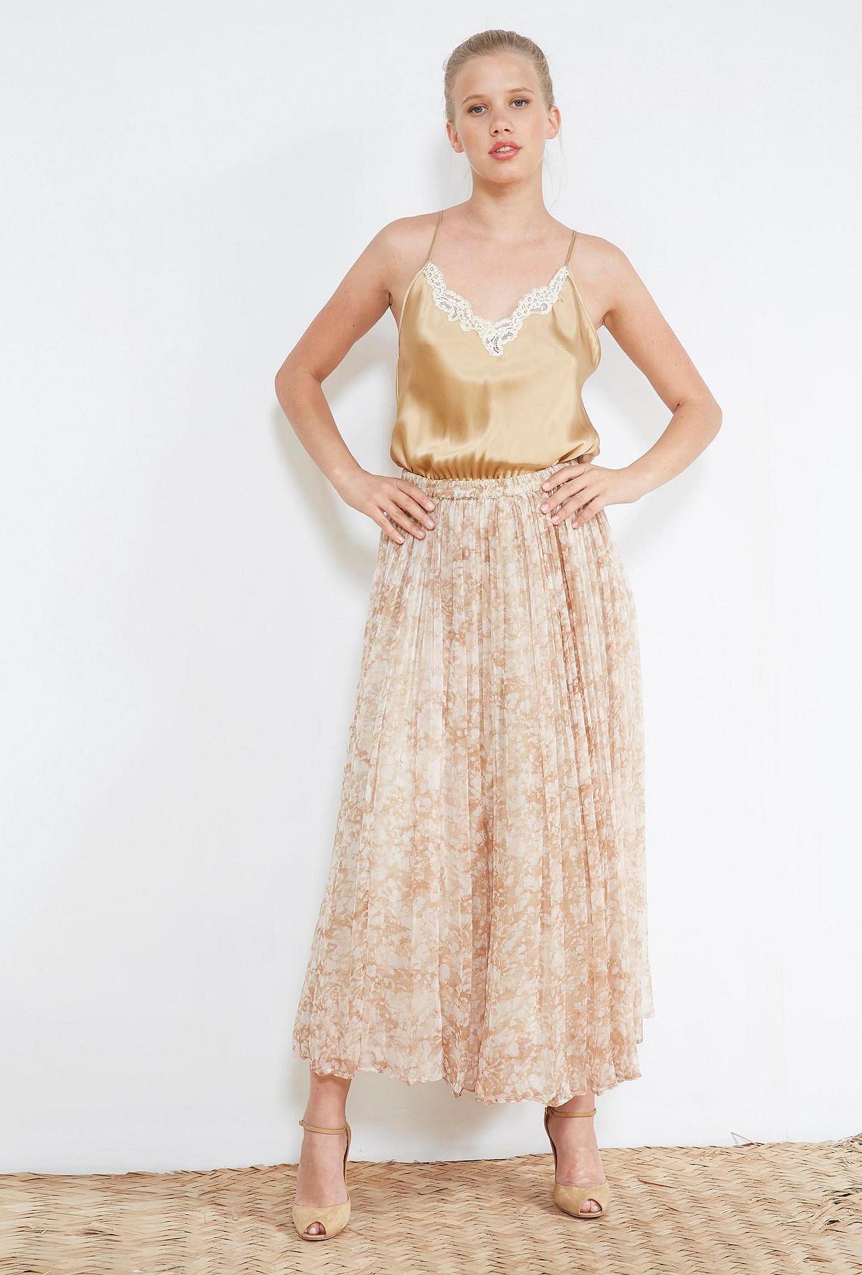 Nude  SKIRT  Tyler Mes demoiselles fashion clothes designer Paris