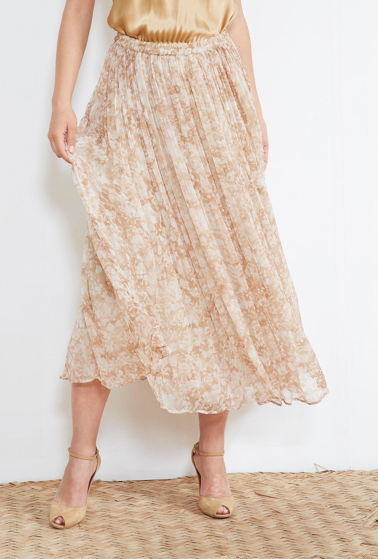 Nude SKIRT Tyler Mes Demoiselles Paris