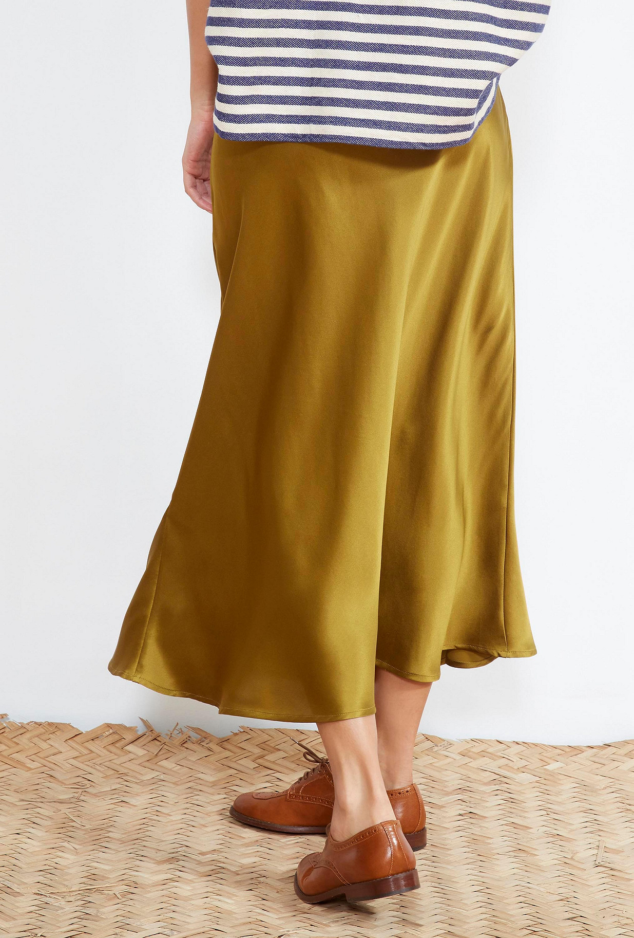 Khaki  SKIRT  Sesame Mes demoiselles fashion clothes designer Paris