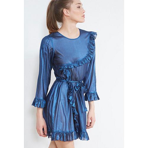 ROBE Stella Mes Demoiselles coloris Bleu nuit