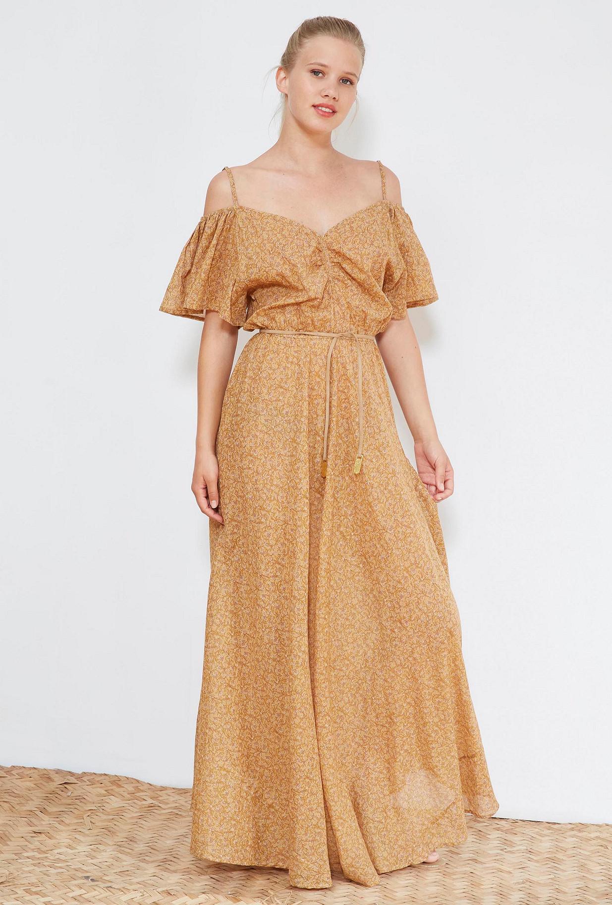 Nude print  DRESS  Adelaide Mes demoiselles fashion clothes designer Paris