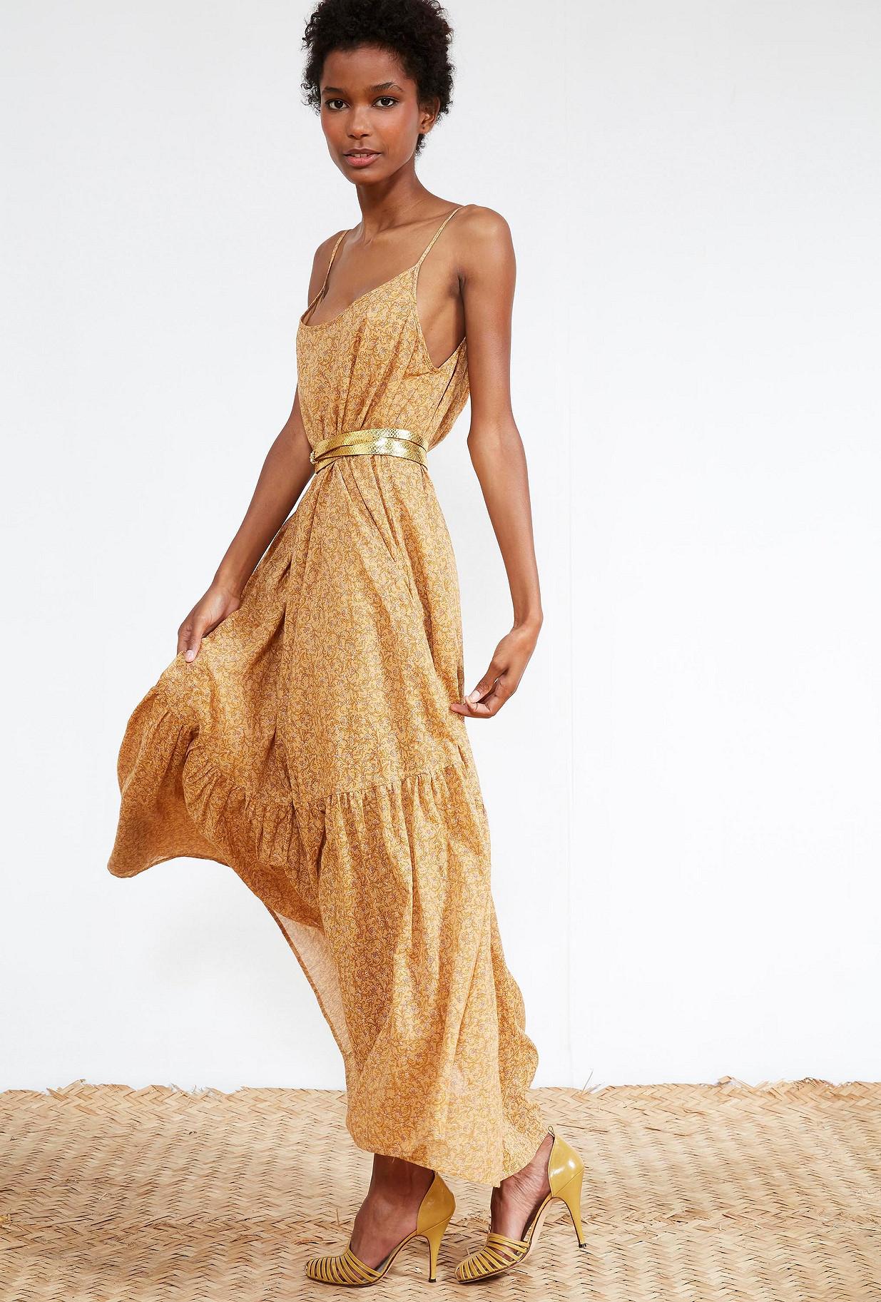 Nude print DRESS Anemone Mes Demoiselles Paris