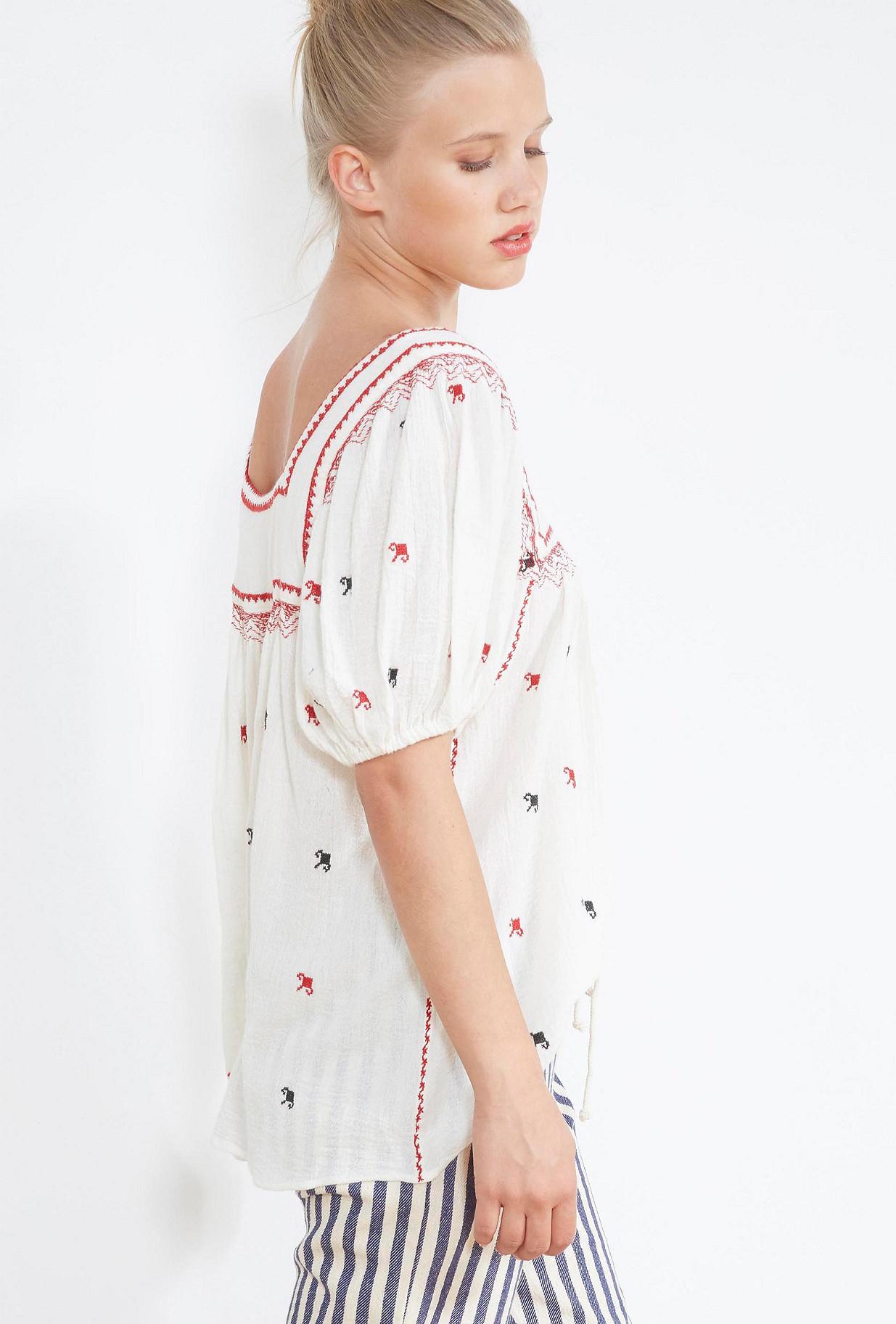 Ivory  BLOUSE  Frimousse Mes demoiselles fashion clothes designer Paris
