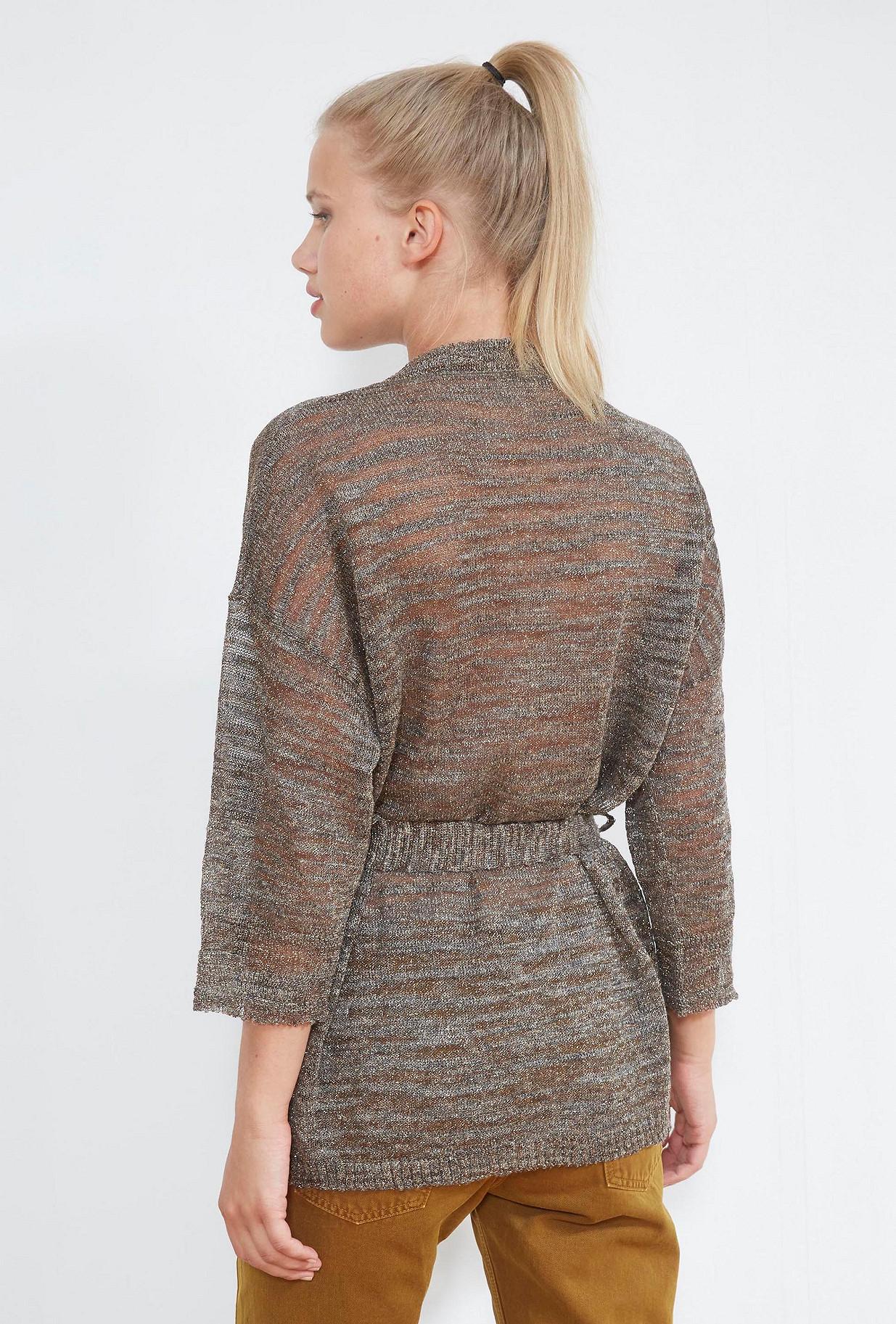 Grey  KNITTED  Bess Mes demoiselles fashion clothes designer Paris
