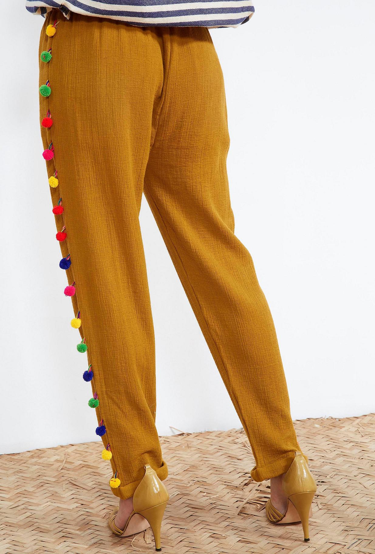clothes store PANTS  Isba french designer fashion Paris