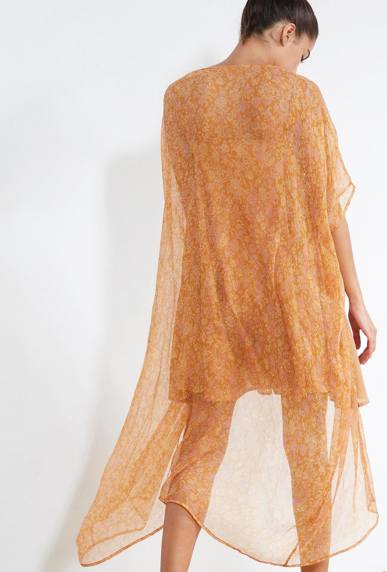 Floral print  KIMONO  Azalee Mes demoiselles fashion clothes designer Paris