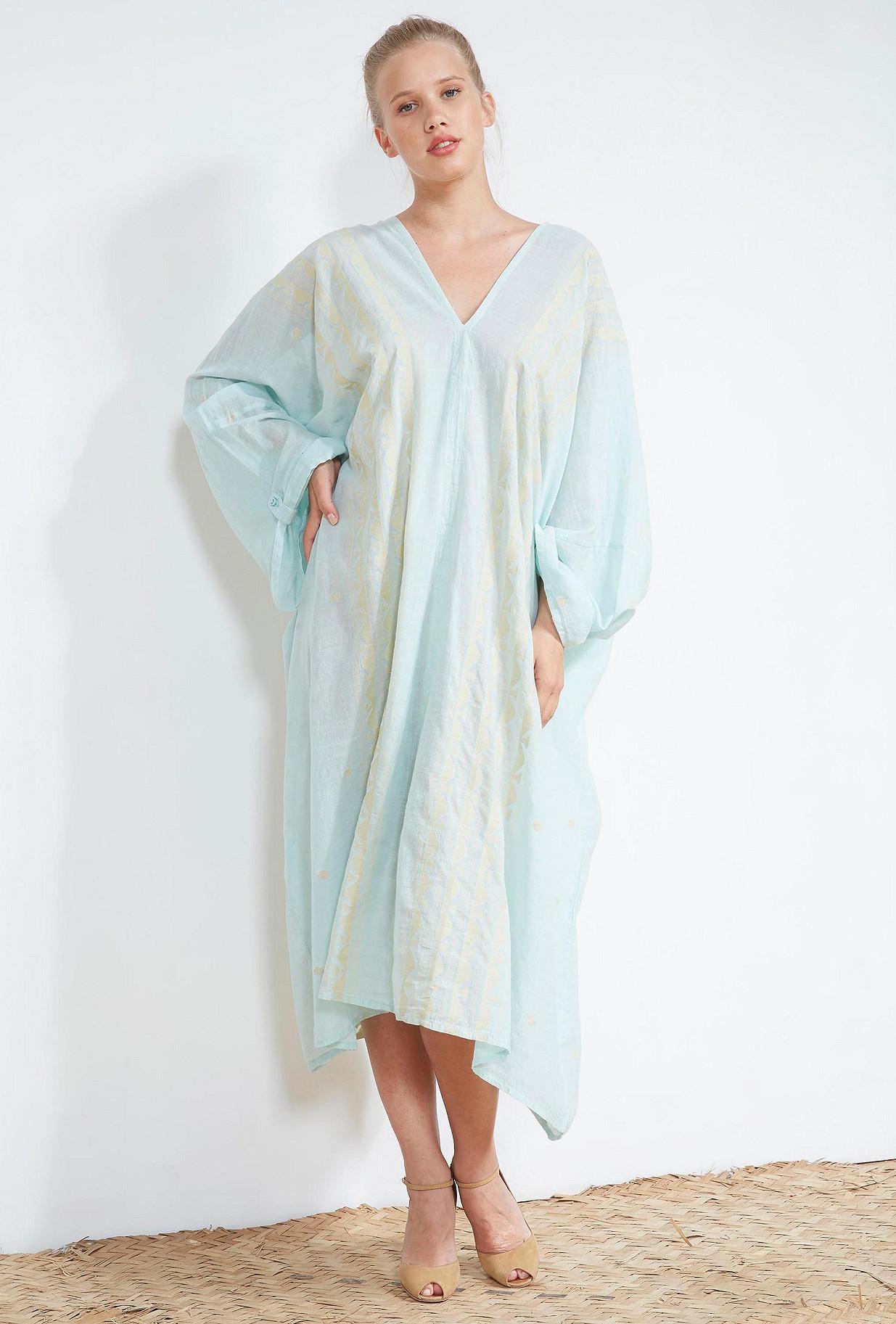 Aqua  KIMONO  Thebes Mes demoiselles fashion clothes designer Paris
