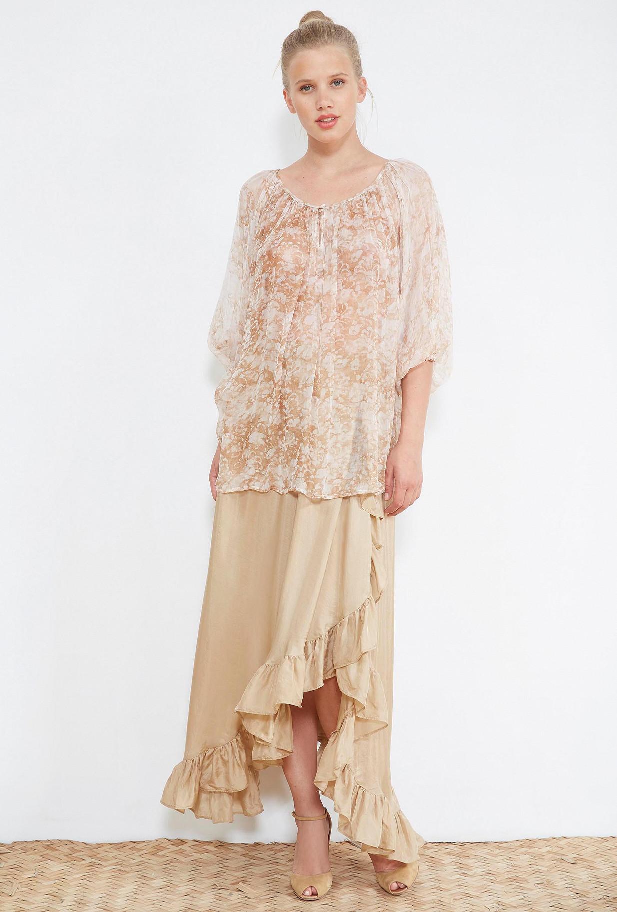 Nude  BLOUSE  Tatum Mes demoiselles fashion clothes designer Paris