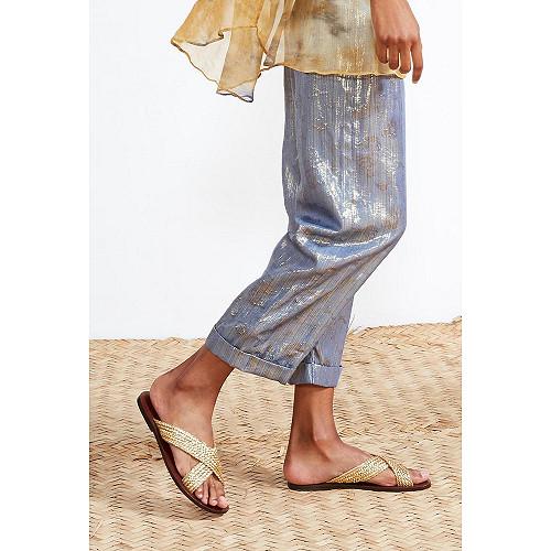 Gold  CHAUSSURES  Ankh Mes demoiselles fashion clothes designer Paris