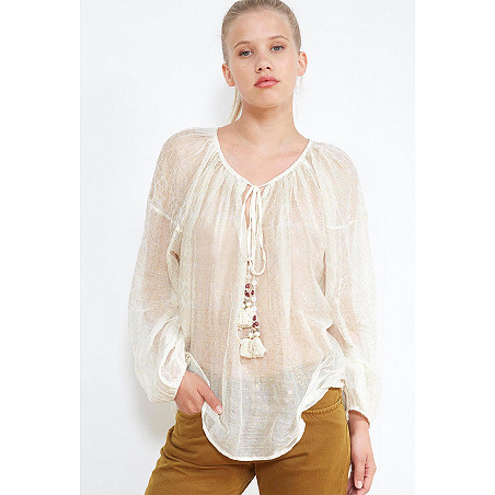 clothes store BLOUSE  Byblos french designer fashion Paris