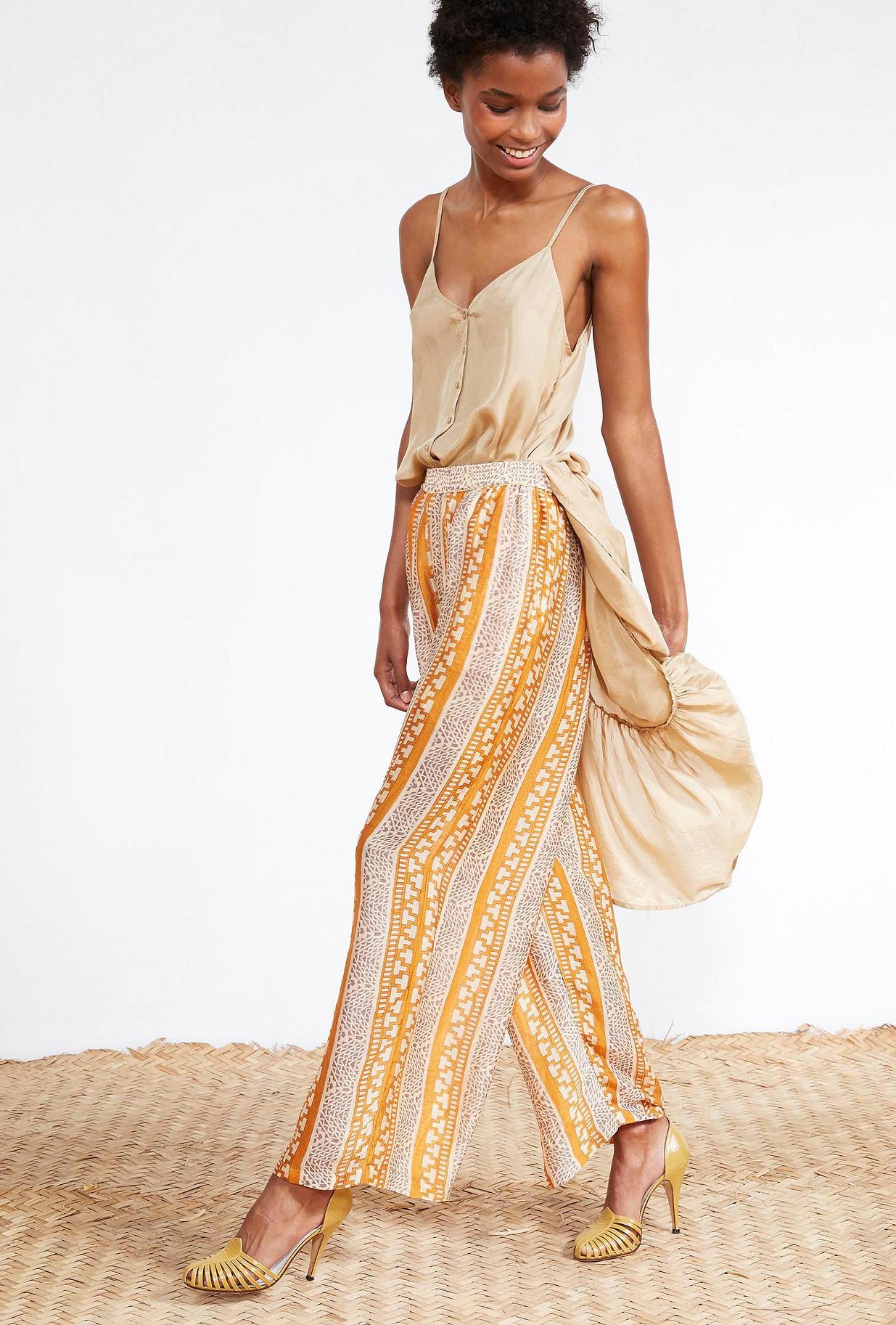 Sapphire print  PANTS  Sudaan Mes demoiselles fashion clothes designer Paris