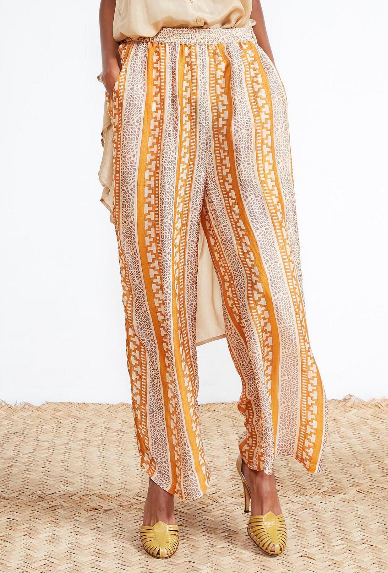PANTALON Imprimé saphir  Sudaan mes demoiselles paris vêtement femme paris