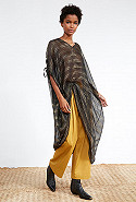 clothes store PONCHO  Estivale french designer fashion Paris